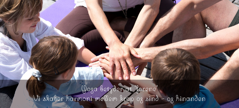Børneyoga og yoga for børn og hele familien med Lilleyogahus
